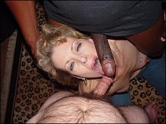 Cuckoldress vernederd haar man met een grote dikke negerpik!